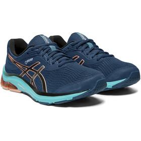 asics Gel-Pulse 11 G-TX Chaussures Femme, mako blue/sun coral